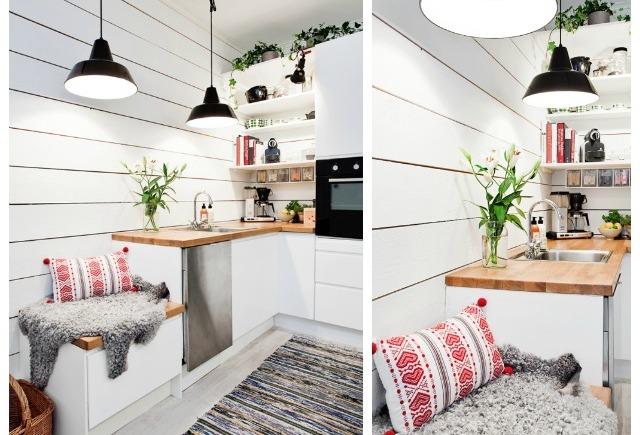 Cómo decorar una cocina de espacio reducido – carpintería pedre ...